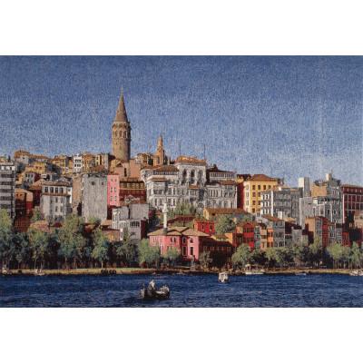 Гобелен Город у моря