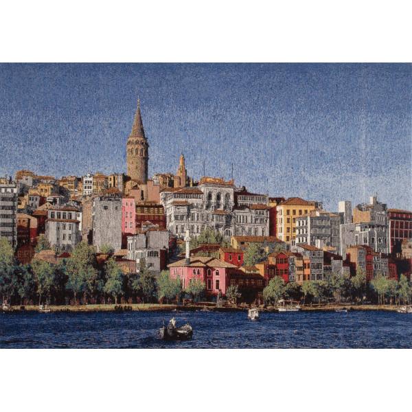 Купить Гобелен Город у моря