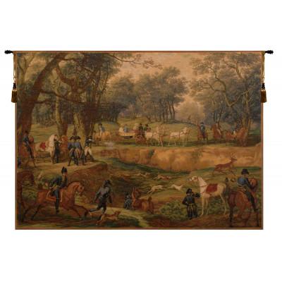 Купить Гобелен Наполеон на охоте в Компьенском лесу