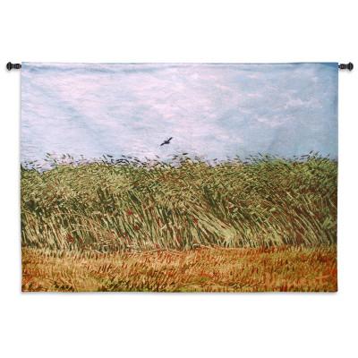 Гобелен Жаворонок на пшеничном поле