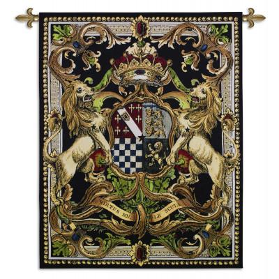 Гобелен Герб на черном II
