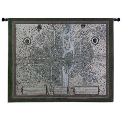 Гобелен Карта Парижа