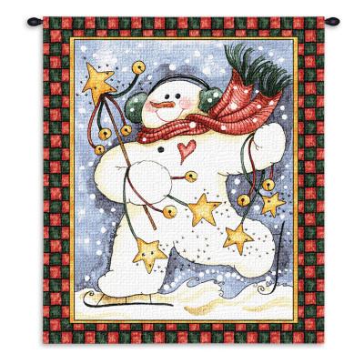 Купить Гобелен Танец снеговика
