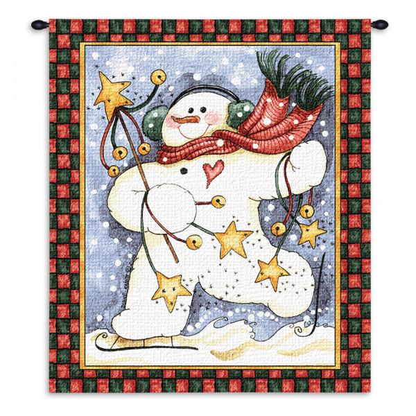 Гобелен Танец снеговика