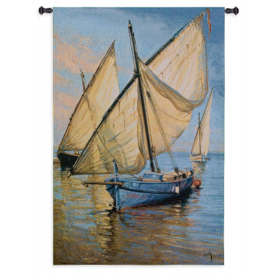 Купить Гобелен Фиолетовая лодка