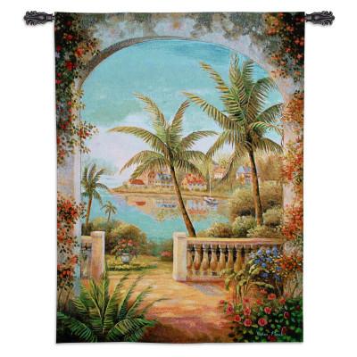 Гобелен Тропическая терраса II