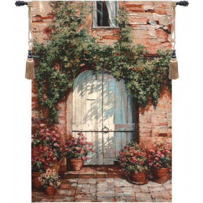 Купить Гобелен Деревянные двери