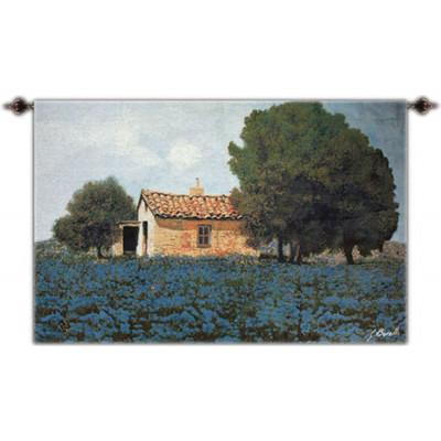 Купить Гобелен Синие цветы