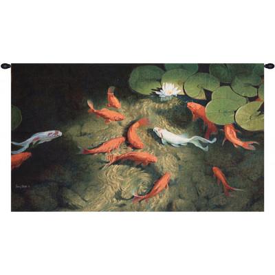 Купить Гобелен Золотые рыбки