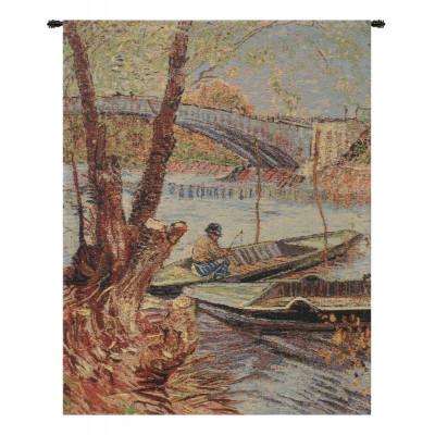 Купить Гобелен Рыбалка весной (Ван Гог)