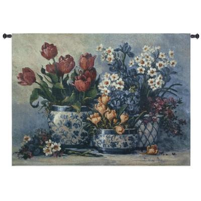 Гобелен Весенний цветы
