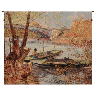 Гобелен Рыбалка весной (Ван Гог)