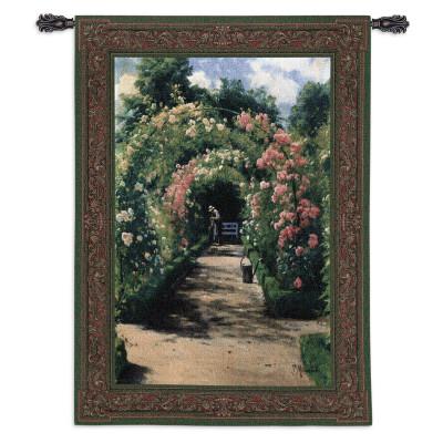 Купить Гобелен В саду