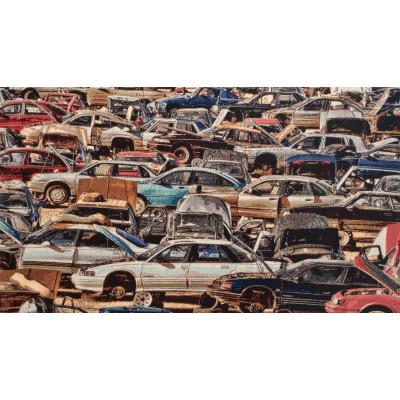 Гобелен Свалка автомобилей