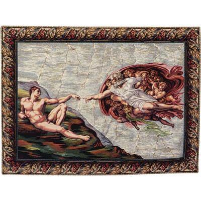 Гобелен Создание Адама (Микеланджело)